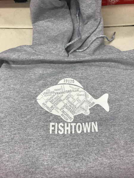 Fishtown Street Name Hoodies