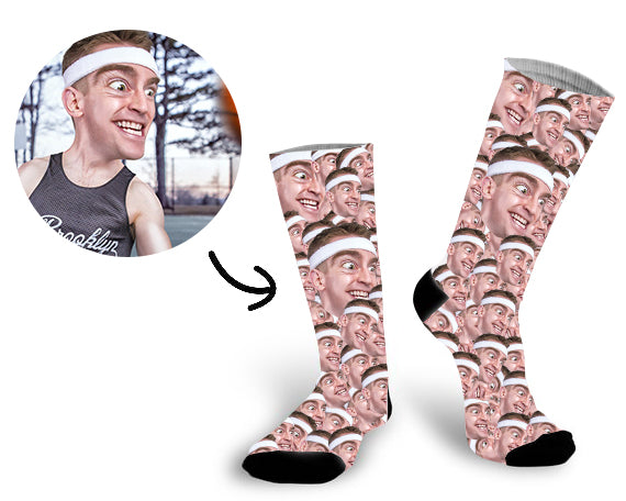 Custom All Men Face Socks Photo Socks - Make Custom Gifts