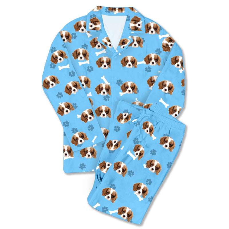 Father's Day Custom Photo Pajamas Cool Dad