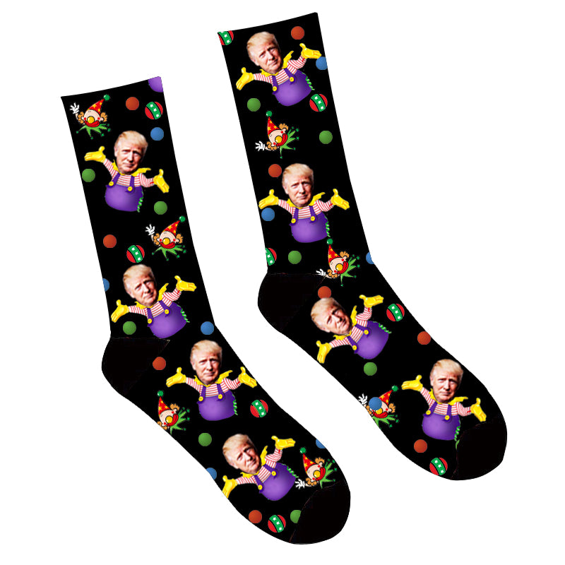 Custom Cartoon Face Socks