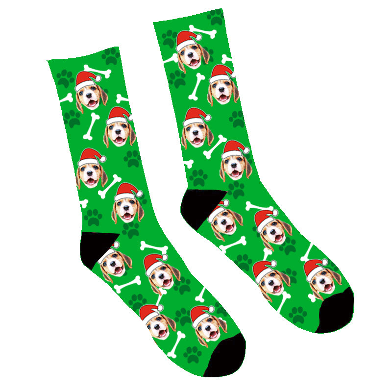Custom Family Face Mash Up Socks