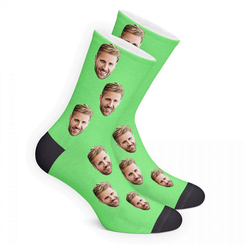Custom Color Face Socks Photo Socks - Make Custom Gifts