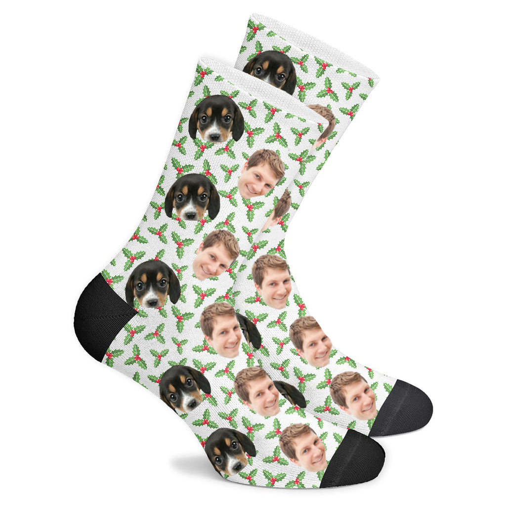 Custom Holly Socks - Make Custom Gifts