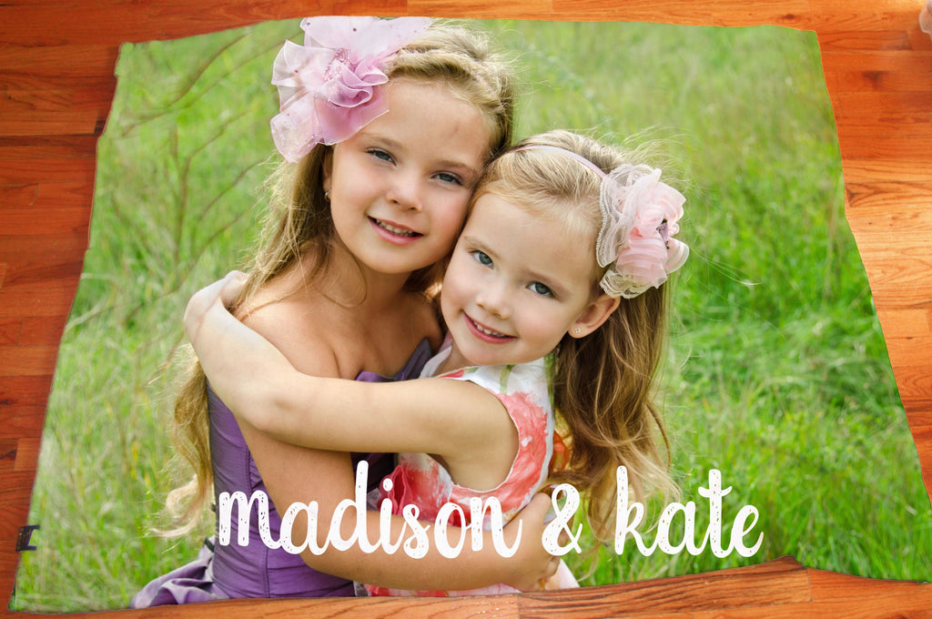 Custom Kid's Photo Blanket - Make Custom Gifts