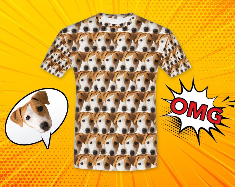 Custom Dog Face Shirt - Make Custom Gifts