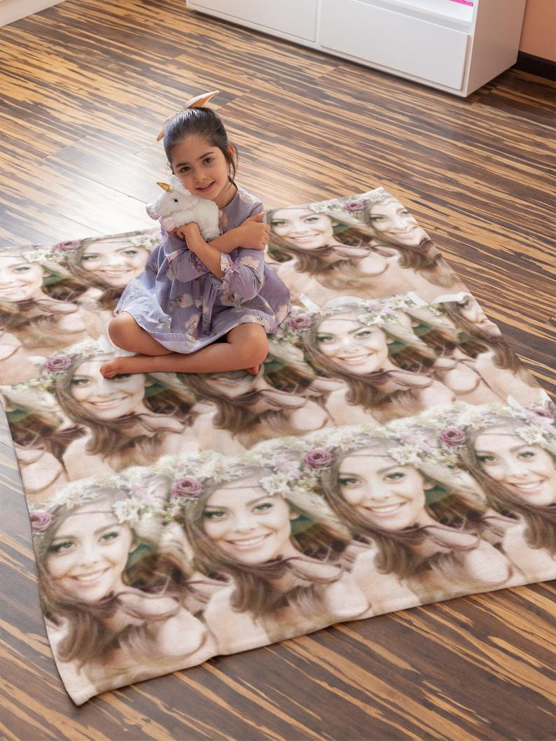 Custom Photo Blanket With Whole Photo - Make Custom Gifts