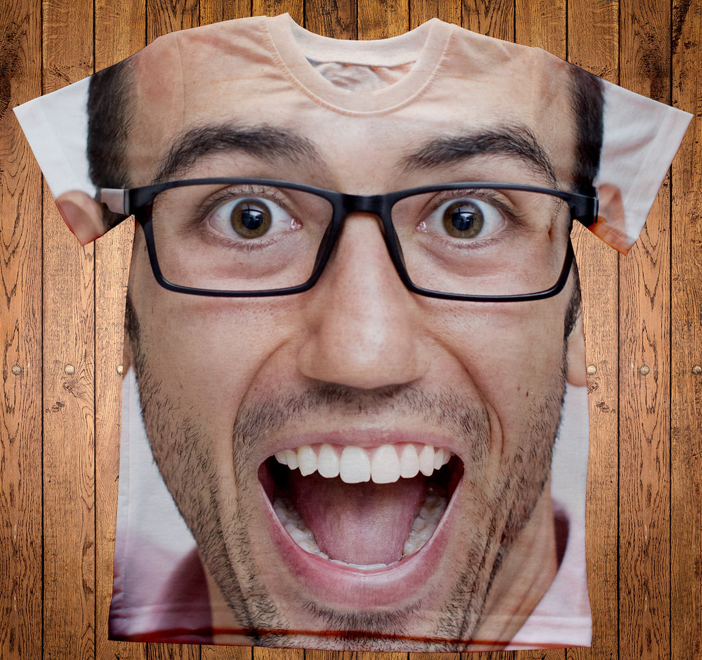 Custom Man Face Shirt - Make Custom Gifts
