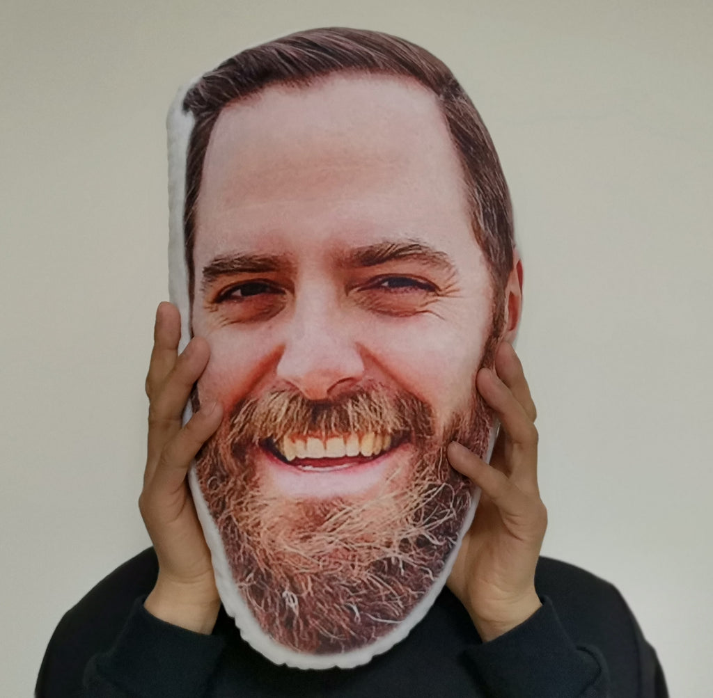 Custom Human Face Pillow Father's Day Gifts