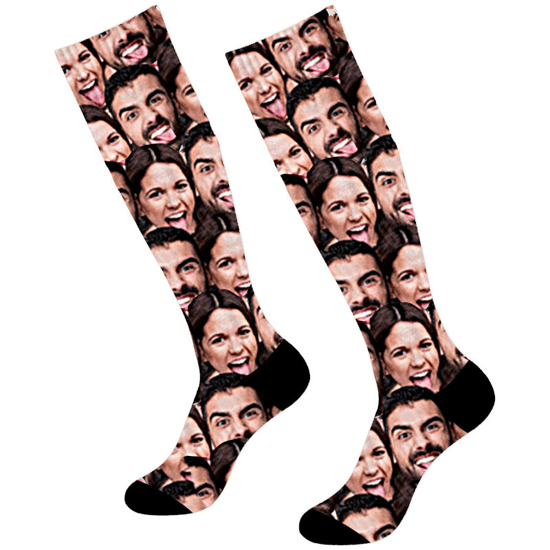 Custom #1 Papa Face Socks