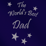 The World's Best Dad - Engraved Tankard Beer Pint Glass - engraving-gallery.com
