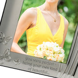 Maid of Honour - Silver Plated Photo Frame - engraving-gallery.com