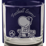 Football Scores! - Engraved Whisky Tumbler Glass - engraving-gallery.com