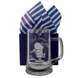 Golf Swings! - Engraved Tankard Beer Pint Glass - engraving-gallery.com