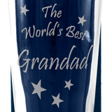Grandad - The World's Best Grandad - Engraved Beer Pint Glass - engraving-gallery.com