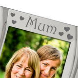 Mum In Every Heart - Silver Plated, Silver Photo Frame - engraving-gallery.com