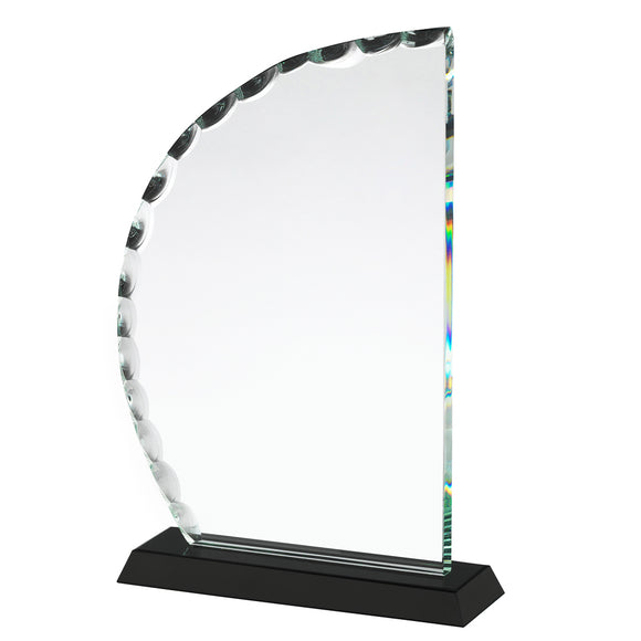 Swatkins GLC033 Crystal Award With Presentation Box In 3 Sizes - engraving-gallery.com