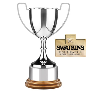 Swatkins GWC5 Nickel Plated Endurance Cup Award Trophy In 6 Sizes - engraving-gallery.com