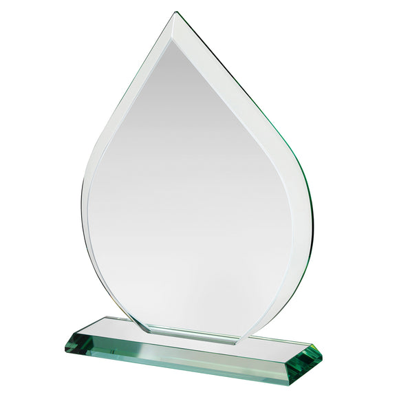 Swatkins HC011 Jade Glass Award With Presentation Box In 3 Sizes - engraving-gallery.com