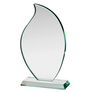 Swatkins HC013 Jade Glass Award With Presentation Box In 3 Sizes - engraving-gallery.com