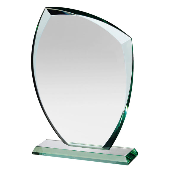 Swatkins HC015 Jade Glass Award With Presentation Box In 3 Sizes - engraving-gallery.com