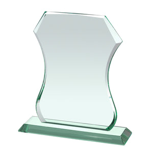Swatkins HC040 Jade Glass Award With Presentation Box In 3 Sizes - engraving-gallery.com