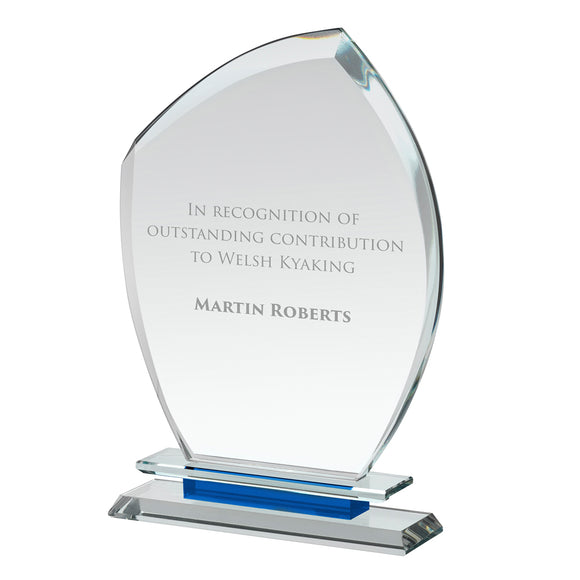 Swatkins HC047 Crystal Award With Presentation Box In 3 Sizes - engraving-gallery.com