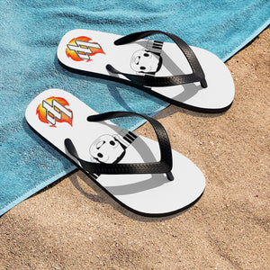 Feel The Flame Flip-Flops