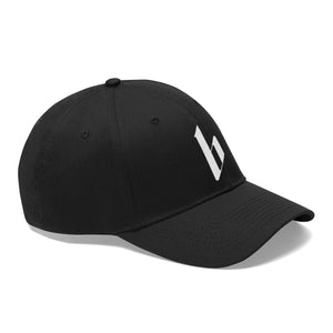 Black Media Logo Twill Hat