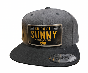 Sunny and The Black Pack 2019 Limited Edition Snapback Hat, Dark Grey