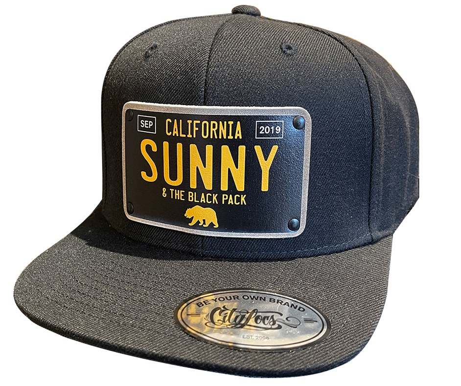 Sunny and The Black Pack 2019 Limited Edition Snapback Hat, Black