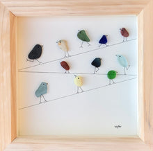 Load image into Gallery viewer, Birds on a wire