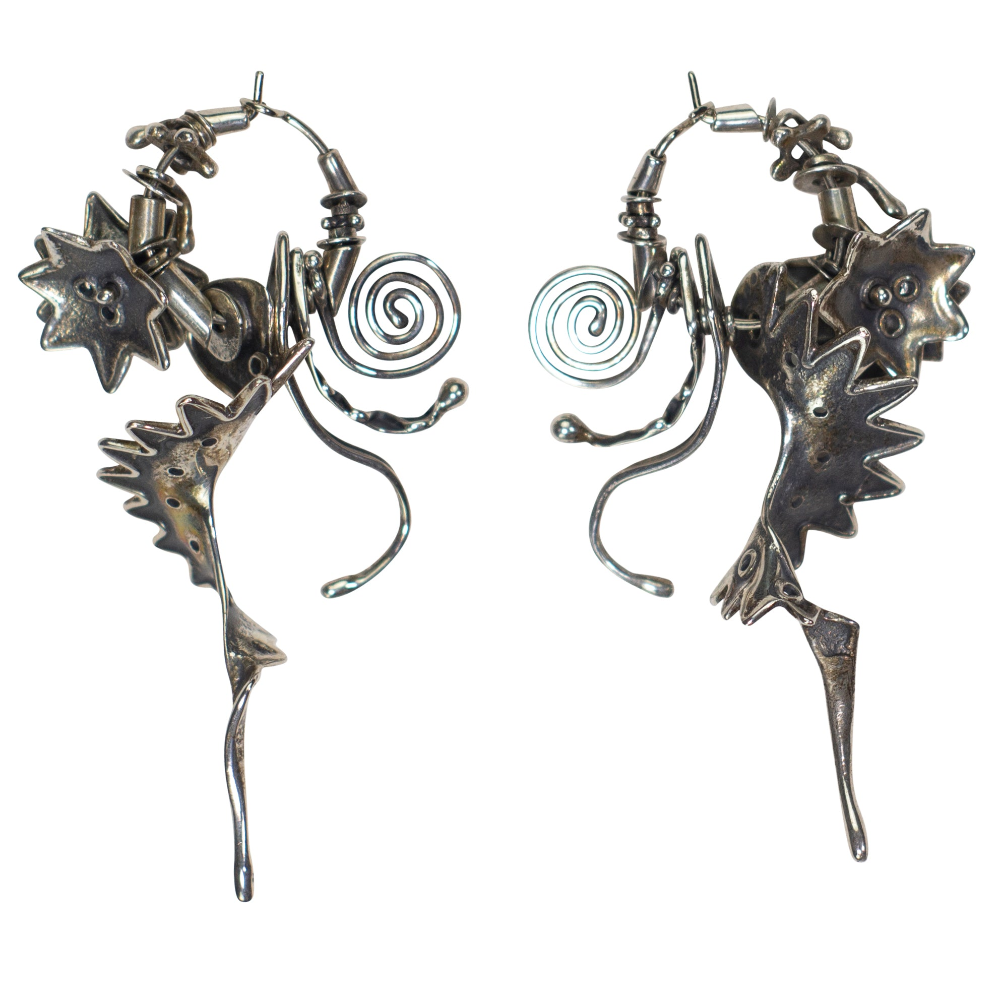 Brian Richardson Artisan Sterling Silver Earrings