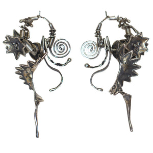 Brian Richardson Artisan Crafted Sterling Silver Earrings