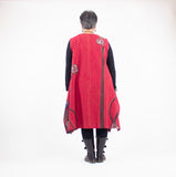 Mao Mam Red Triangle Tunic