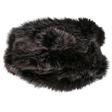 Parkhurst Sherpa Hat, Tundra Faux Fur, Black Top