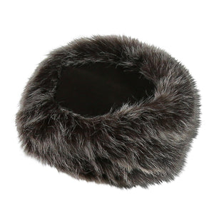 Parkhurst Sherpa Hat, Mishka Faux Fur Color QC5, Brown Top