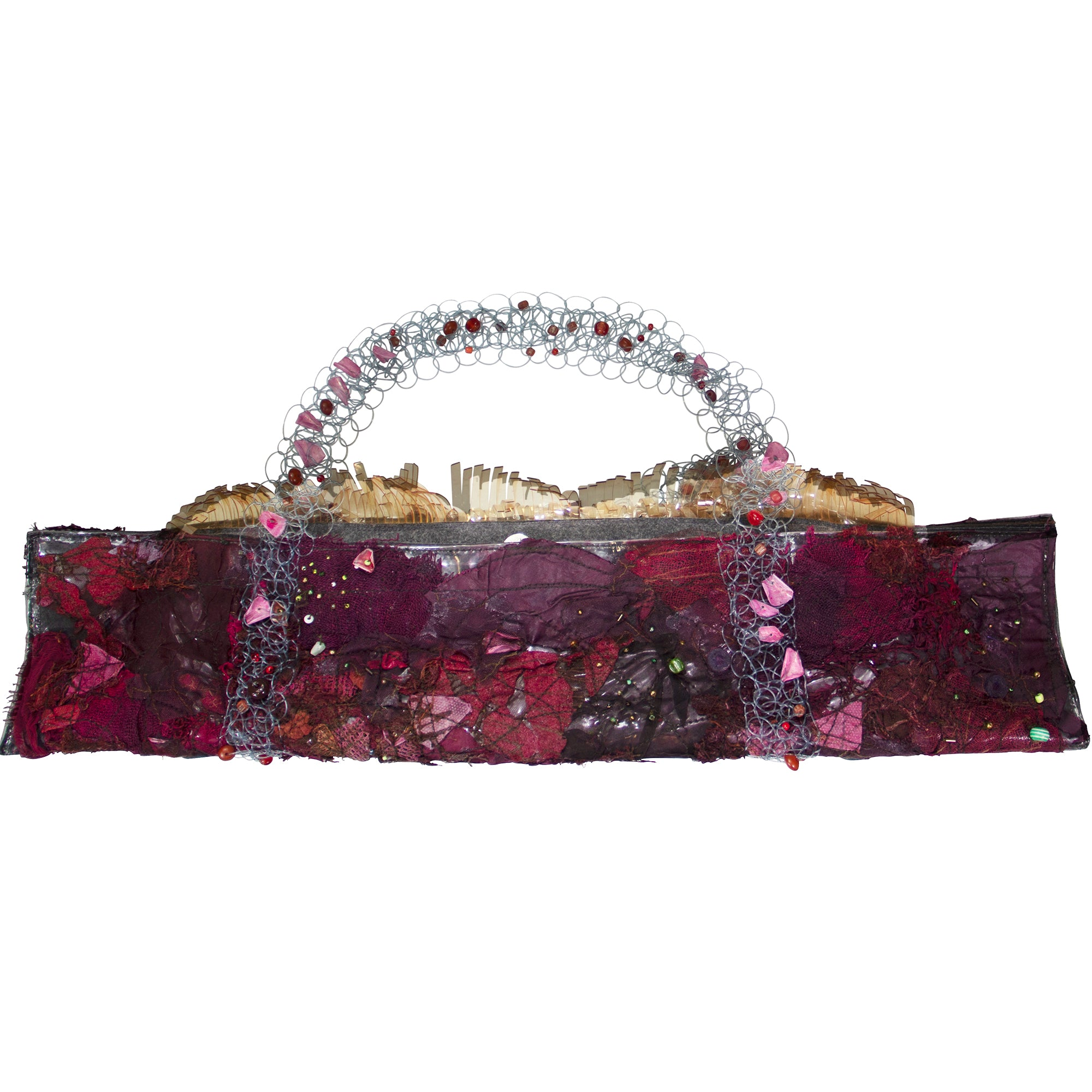 Studio Long Suna Reclaimed Red Bag