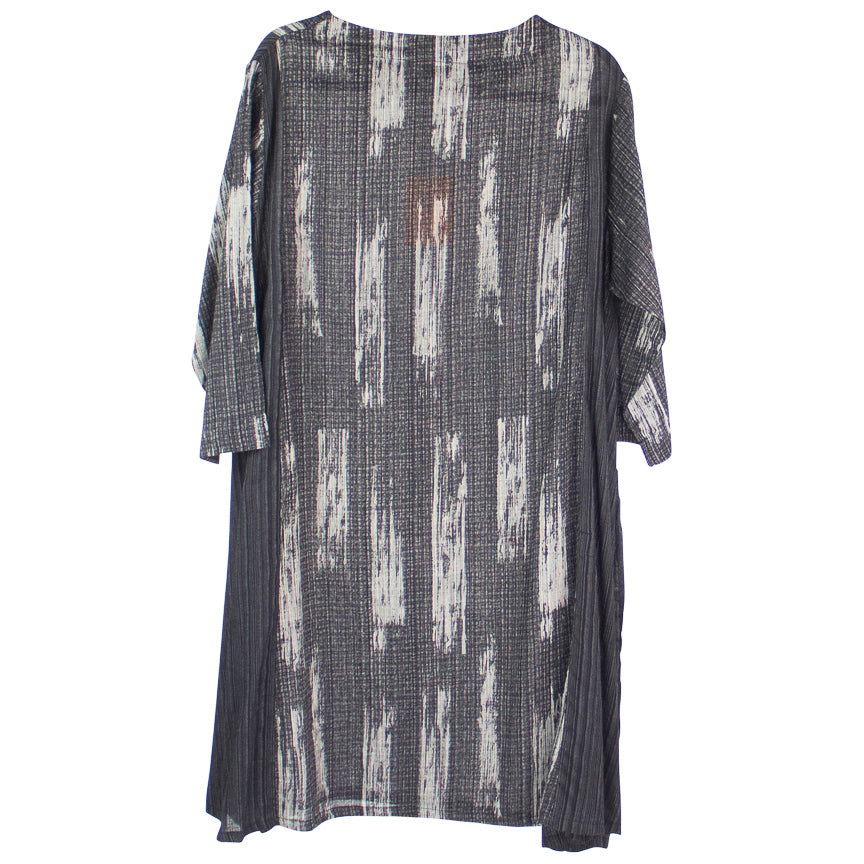 Mao Mam Marble Mesh Print Dress