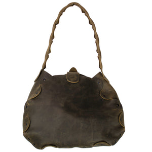 CYWOQ Cedar Olive green leather bag