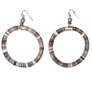 Earrings Cord Hoop