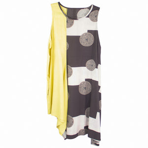 Mao Mam Funky Tank Dress Print