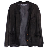 Magnolia Pearl Silk Lined Fenella Jacket, Midnight
