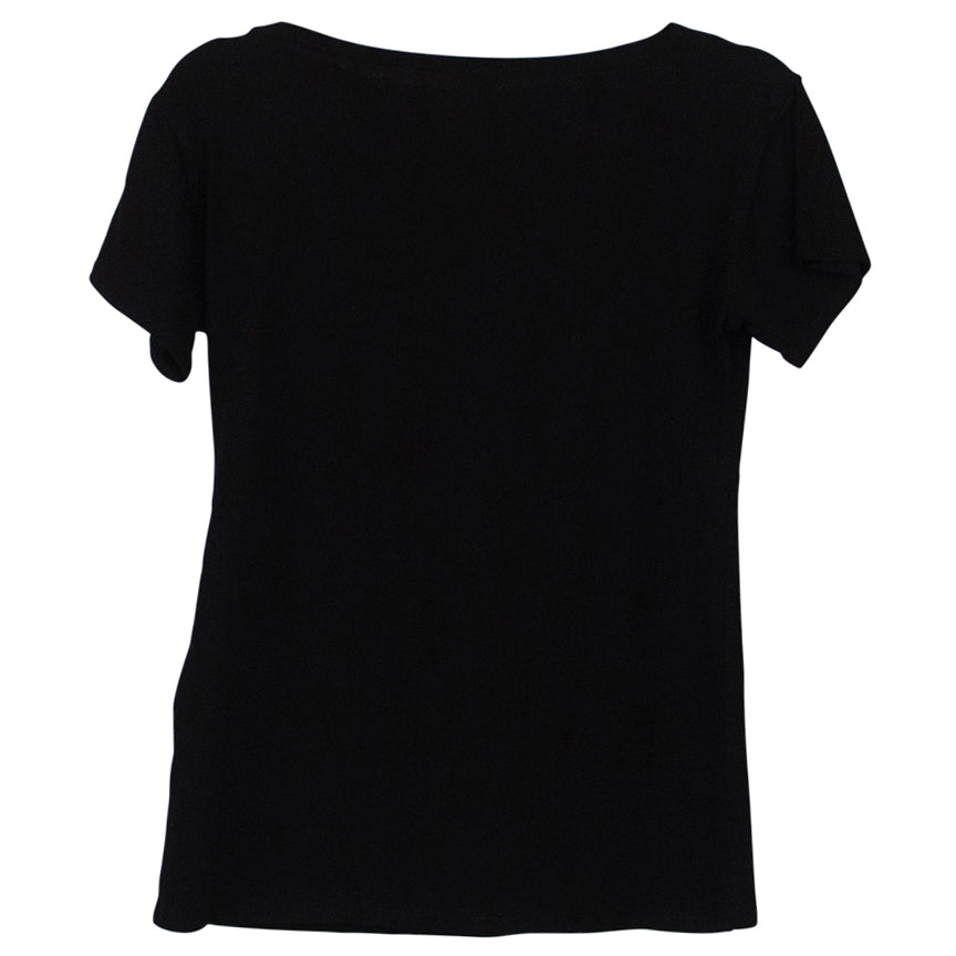 M. MATTHILDUR Black Short Sleeve Tee