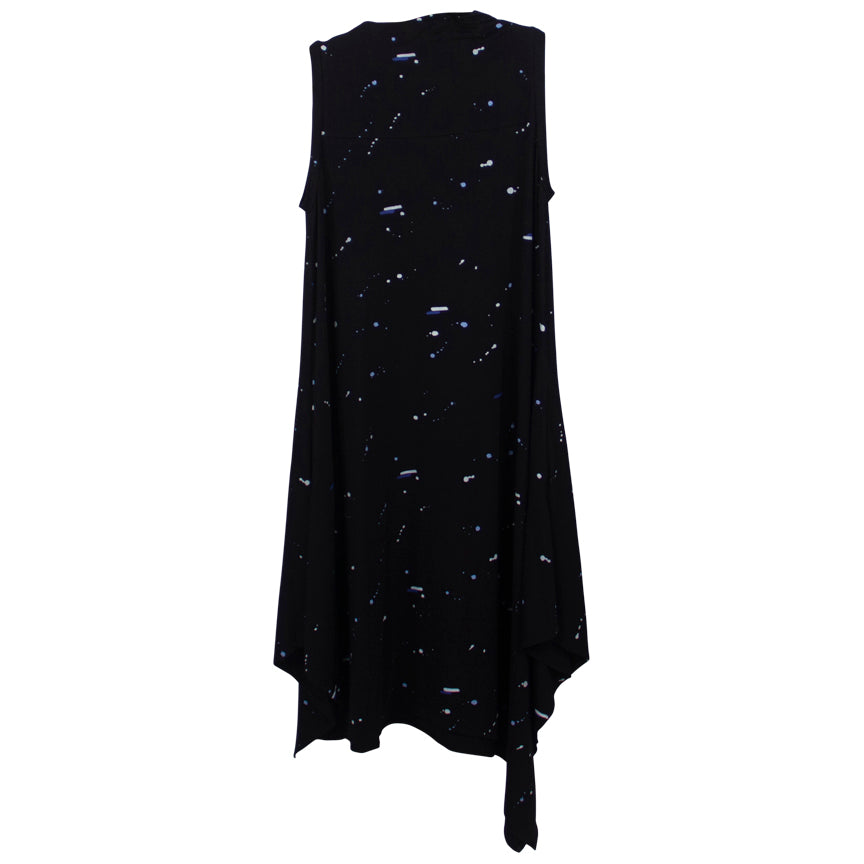 Snapdragon & Twig Delphina Space Print Dress