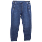 Alembika Stretch Denim Straight Leg Pant