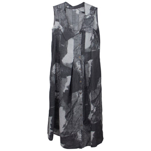 LUUKAA Grey Print Dress