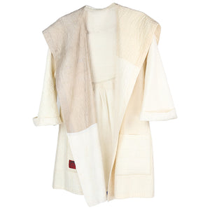 Mieko Mintz Back Tuck Jacket, White