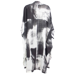 Moyuru Black & White Duster