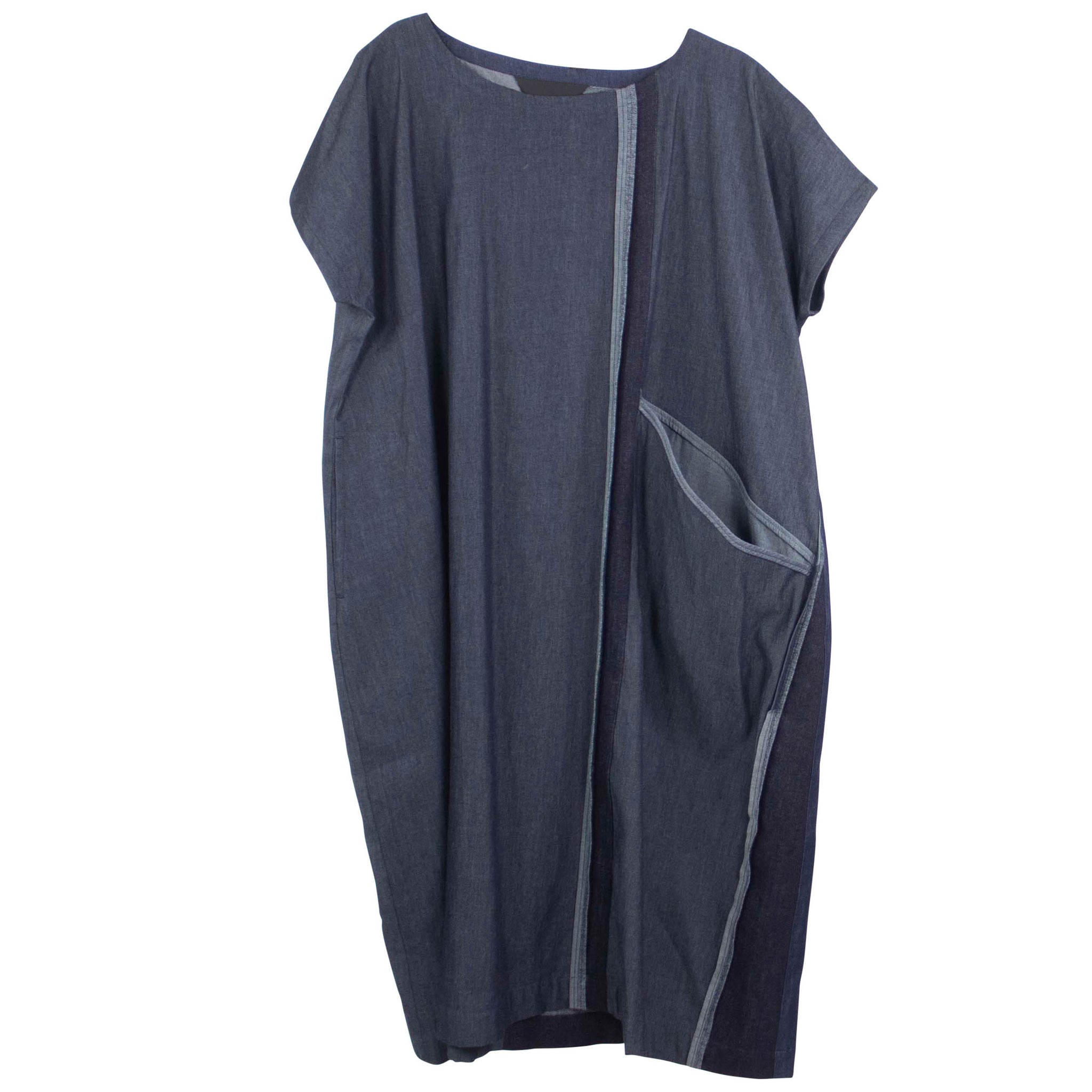 Moyuru Indigo Denim Dress