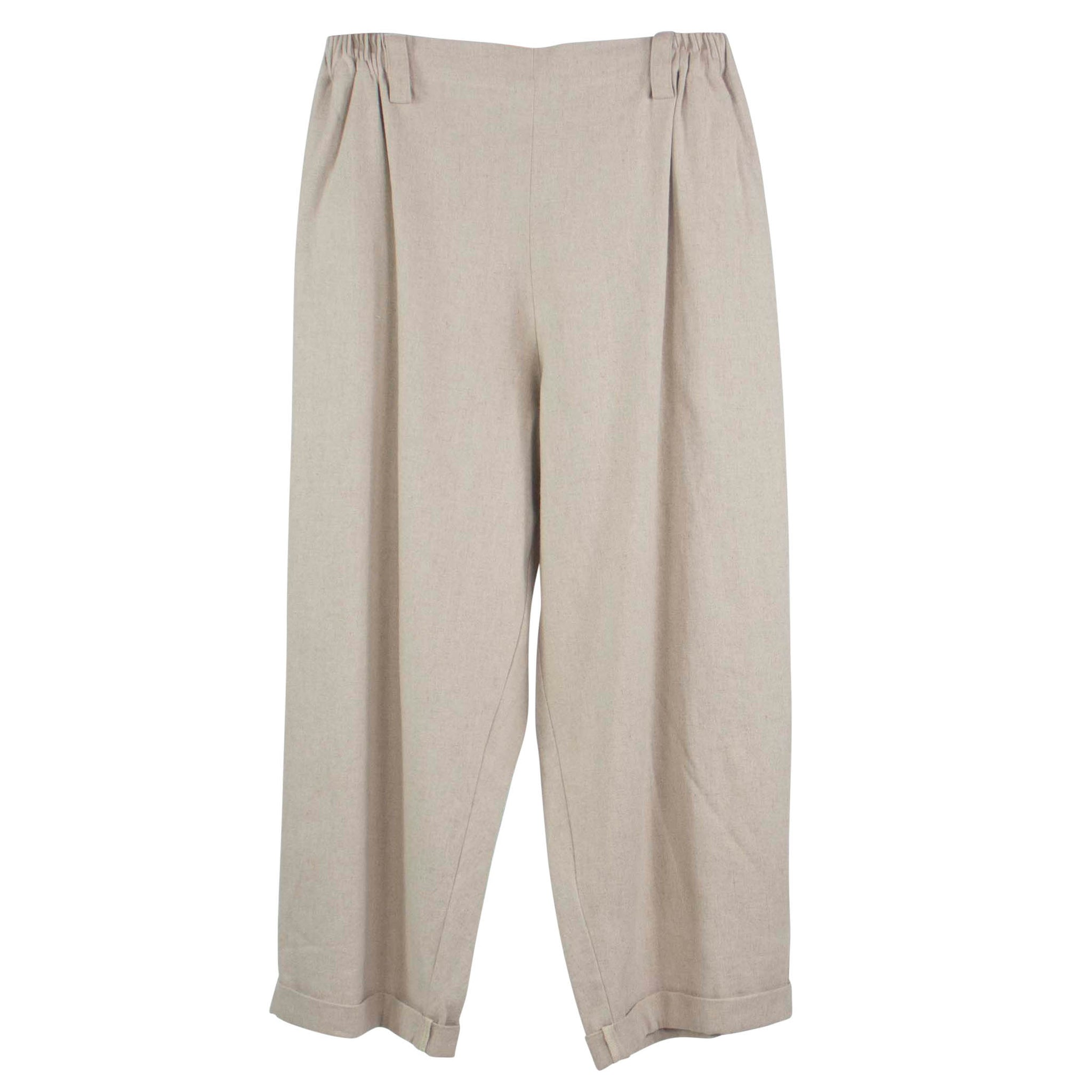 Moyuru Loose Fit Cuffed Pant